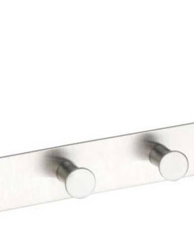 Závěsný věšák na dveře se 6 háčky ve stříbrné barvě Wenko Celano Matt