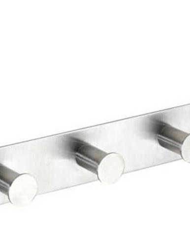 Závěsný věšák na dveře se 6 háčky ve stříbrné barvě Wenko Celano