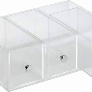 Organizér se 3 zásuvkami iDesign Flip, 9x18 cm