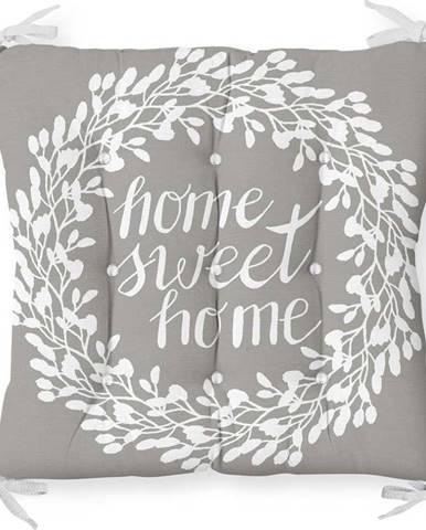 Podsedák na židli Minimalist Cushion Covers Gray Sweet Home, 40 x 40 cm