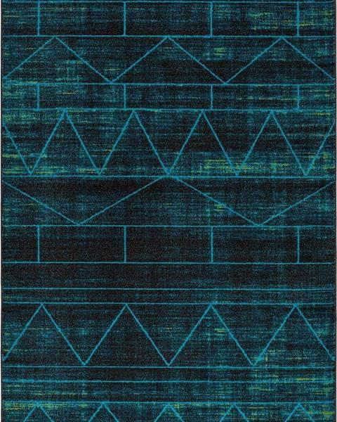 Universal Modrý koberec Universal Neon Blue, 140 x 200 cm
