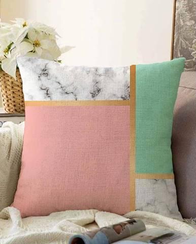 Povlak na polštář s příměsí bavlny Minimalist Cushion Covers Elegant,55x55cm