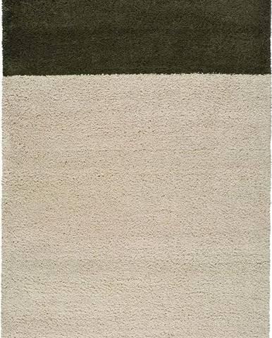 Zeleno-béžový koberec Universal Zaida, 80 x 150 cm