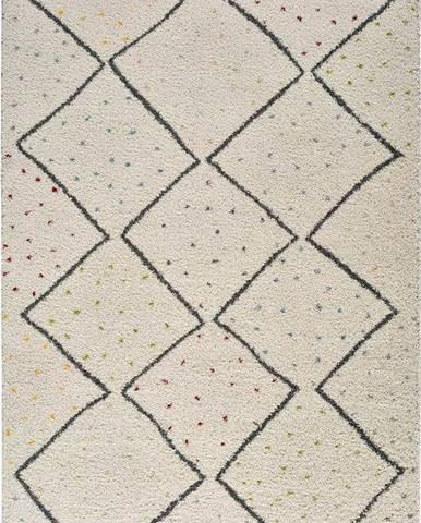 Béžový koberec Universal Atlas Line, 80 x 150 cm
