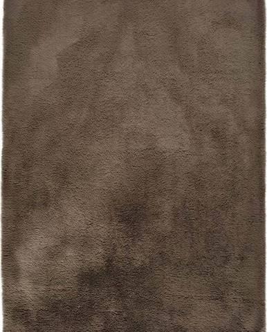 Hnědý koberec Universal Alpaca Liso, 80 x 150 cm
