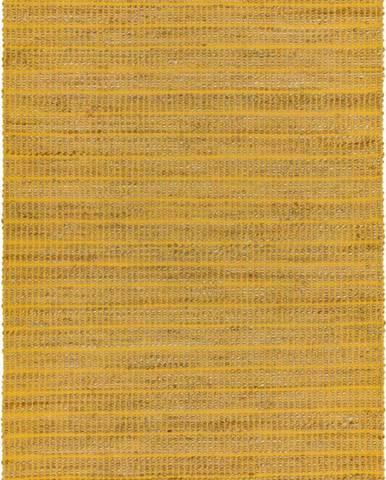 Hořčicový koberec Asiatic Carpets Ranger, 160 x 230 cm