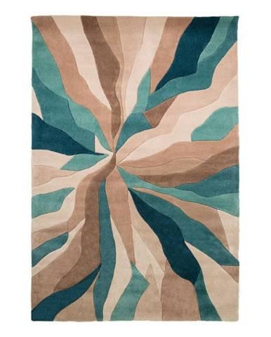 Tyrkysový koberec Flair Rugs Splinter,120 x170cm