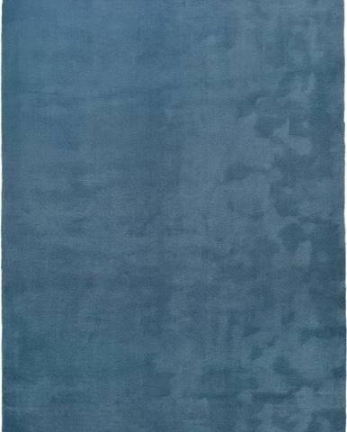 Modrý koberec Universal Berna Liso, 80 x 150 cm