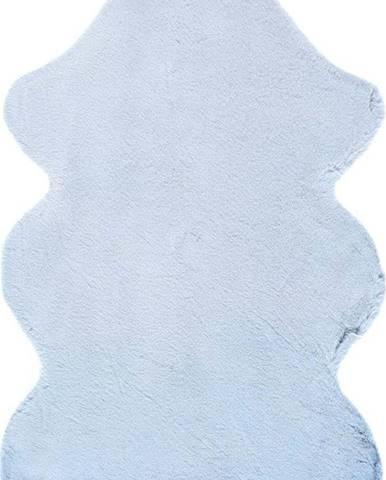 Modrý koberec Universal Fox Liso, 60 x 90 cm