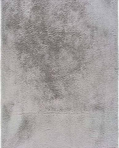 Šedý koberec Universal Alpaca Liso, 60 x 100 cm