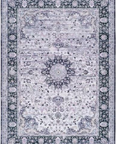 Šedý koberec Universal Persia Grey, 140 x 200 cm