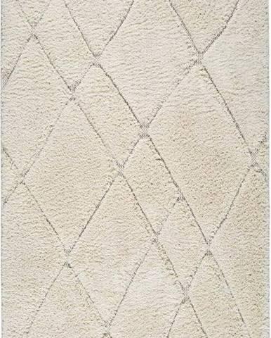 Béžový koberec Universal Kai Line, 57 x 115 cm