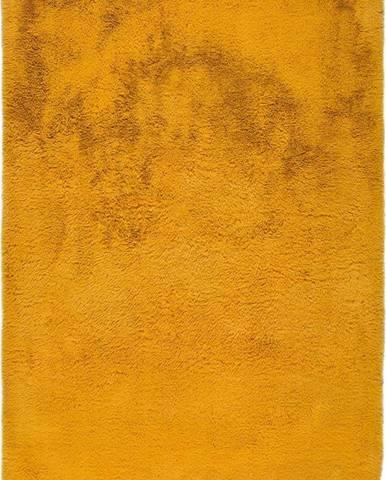 Oranžový koberec Universal Alpaca Liso, 60 x 100 cm