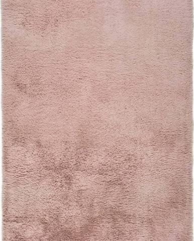 Růžový koberec Universal Alpaca Liso, 140 x 200 cm