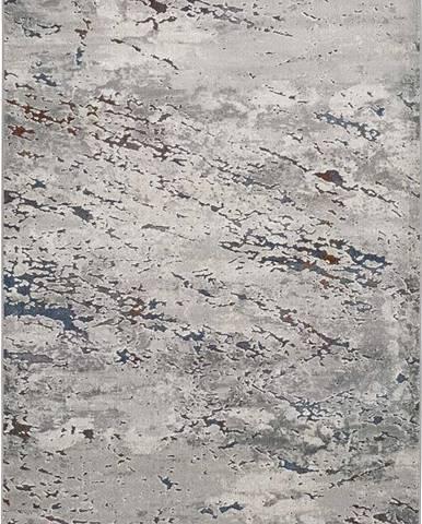 Šedý koberec Universal Berlin Grey, 80 x 150 cm