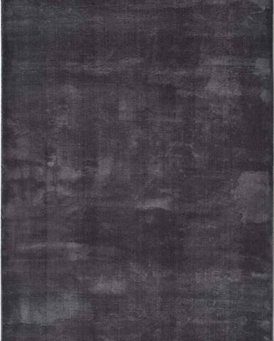 Antracitově šedý koberec Universal Loft, 120 x 170 cm