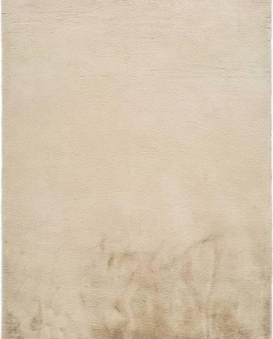 Béžový koberec Universal Fox Liso, 80 x 150 cm