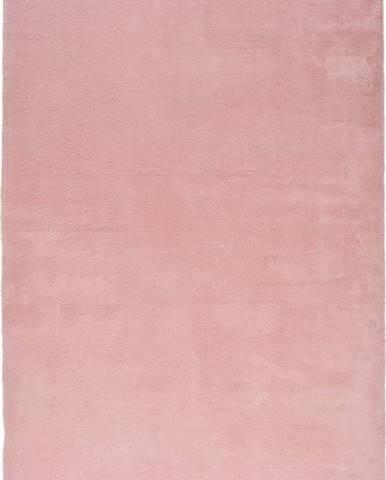 Růžový koberec Universal Berna Liso, 160 x 230 cm