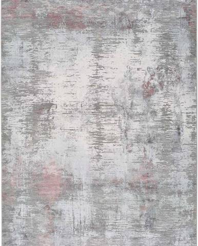 Šedý koberec Universal Riad Silver, 120 x 170 cm