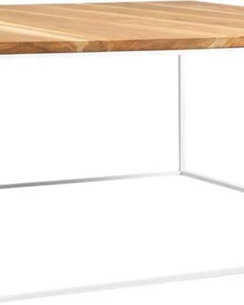 Custom Form Konferenční stolek s bílou konstrukcí Custom Form Tensio, 100 x 100 cm