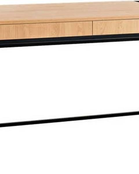 Custom Form Pracovní stůl s černou konstrukcí Custom Form