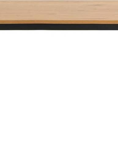 Jídelní stůl s deskou v dekoru divokého dubu Actona Seaford,160x80cm