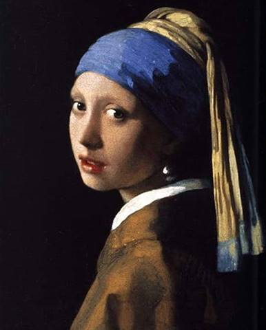 Reprodukce obrazu Johannes Vermeer - Girl with a Pearl Earring,70x50cm