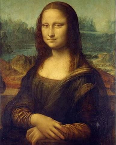 Reprodukce obrazu Leonardo da Vinci - Mona Lisa,60x40cm