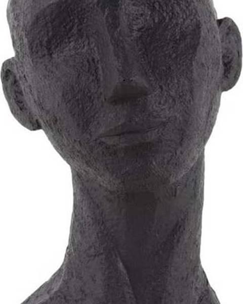 PT LIVING Černá dekorativní soška PT LIVING Face Art Lana, 28 cm