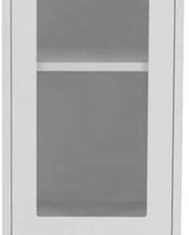 Bílá vitrína Tenzo Uno, šířka 40cm