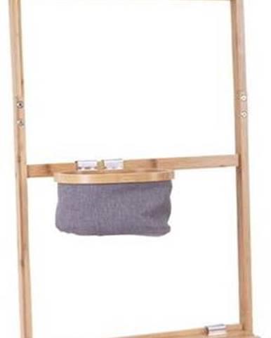 Bambusový věšák se zrcadlem Leitmotiv Bamboo
