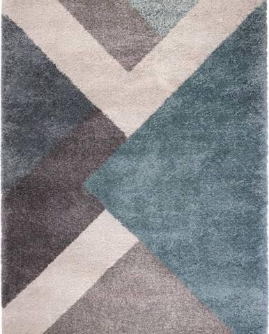 Modro-šedý koberec Flair Rugs Zula, 120 x 170 cm