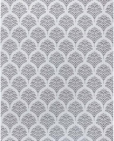 Černo-šedý venkovní koberec Ragami Moscow, 160 x 230 cm