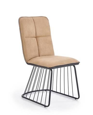 Halmar Jídelní židle K269, světle hnědá