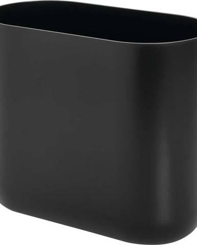 Černý odpadkový koš iDesign Cade, 9,5l