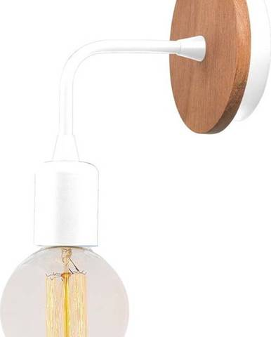 Bílé nástěnné svítidlo Homemania Decor Simple Drop