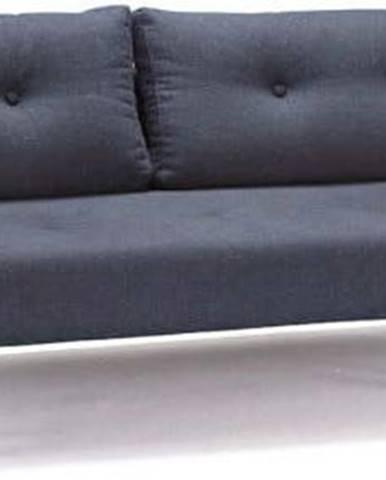 Tmavě modrá rozkládací pohovka Innovation Recast Plus Nist Blue