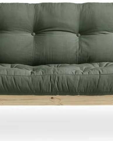 Variabilní pohovka Karup Design Grab Natural Clear/Olive Green