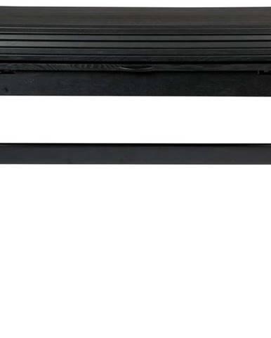 Černý psací stůl s výsuvnou deskou Zuiver Barbier, délka 110 cm