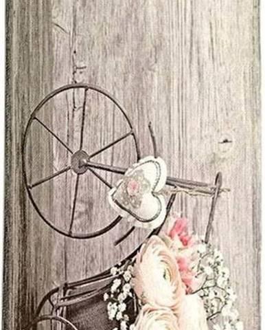 Běhoun Floorita Bouquet, 60 x 140 cm