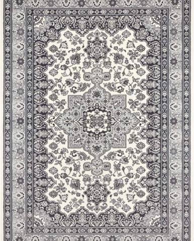 Krémově-šedý koberec Nouristan Parun Tabriz, 120 x 170 cm
