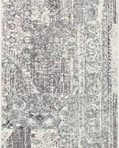 Šedo-krémový běhoun Hanse Home Celebration Garitto, 80 x 250 cm