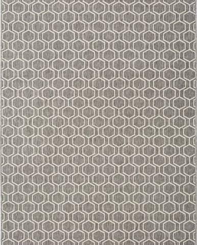 Šedý venkovní koberec Universal Clhoe, 160 x 230 cm