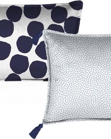 Sada 2 dekorativních polštářů Velvet Atelier Spots