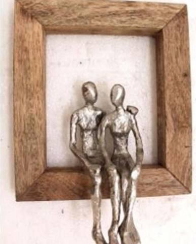Nástěnná dekorace Kare Design Loving Couple