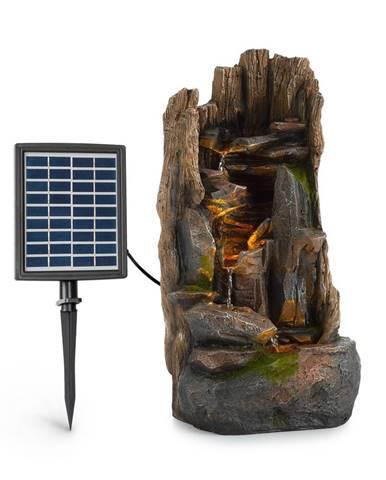 Blumfeldt Magic Tree, solární fontána, LED osvětlení, polyresin