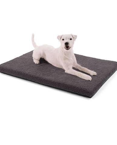 Brunolie Nala, pelíšek pro psy, podložka pro psy, omyvatelná, protiskluzová, prodyšná, komfortní pěna, velikost S (80 x 5 x 60 cm)