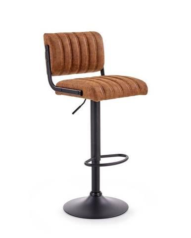 Halmar Barová židle H-88, hnědá