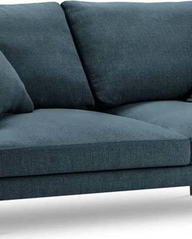 Modrá pohovka Milo Casa Piero, 220 cm