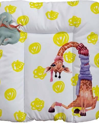 Přebalovací podložka Mr. Little Fox Safari Friends, 75 x 70 cm
